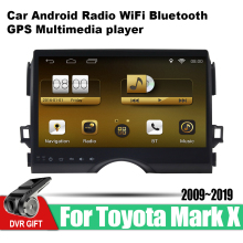 ZaiXi Android Car GPS Multimedia Player For Toyota Mark X 2009~2019 car Navigation radio Video Audio WiFi Bluetooth