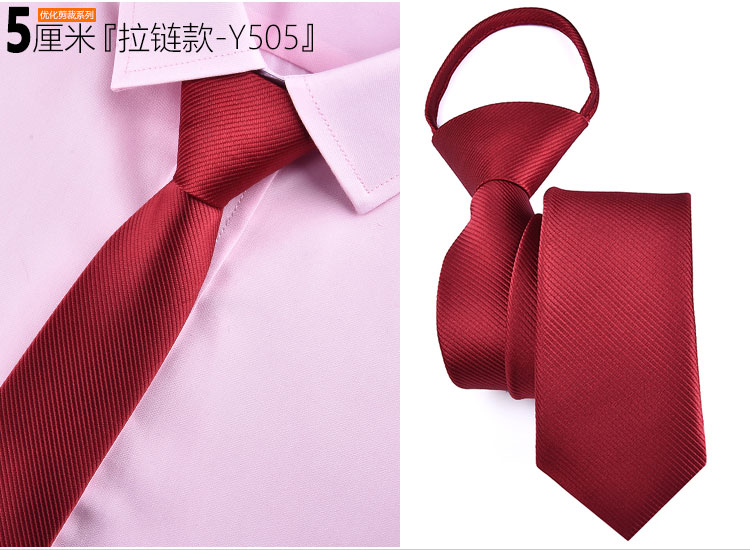 Fashion 5cm Necktie For Men and Women Slim Narrow Lazy Tie Easy To Pull Rope Neckwear Korean Style Wedding Party Aniversary Blue 7