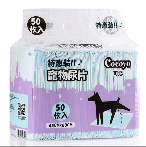 33*45cm /60*44cm Disposable Under pads &Waterproof, non-skid & Highly absorbent Pet diapers