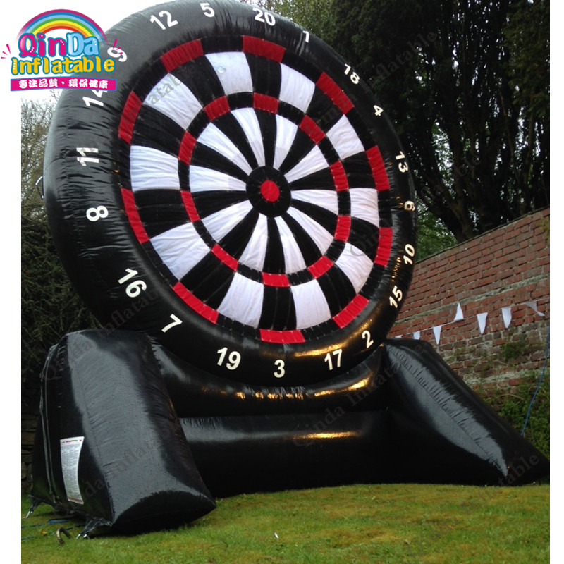 China custom inflatable dart game,bouncy soccer darts,inflatable archery tag game inflatable foot darts for sale tsuyoki dart 80f 113