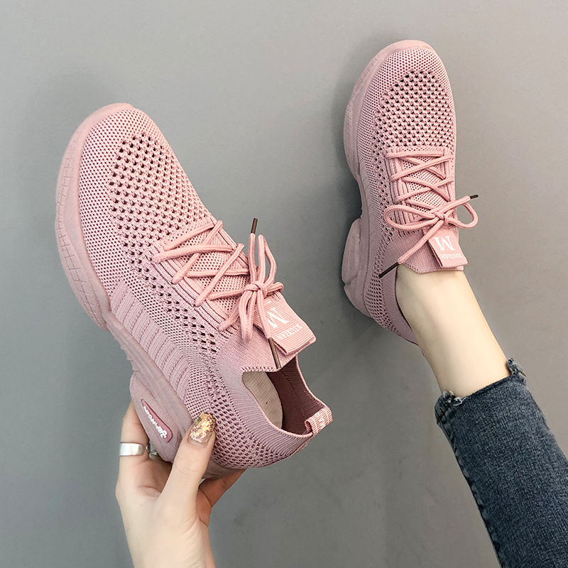 Sports shoes female 2019 new spring net red old shoes breathable mesh casual female shoes off white shoes  women shoesSports shoes female 2019 new spring net red old shoes breathable mesh casual female shoes off white shoes  women shoes