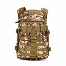 Mochila táctica Militar de camuflaje bolsa de Deportes Al Aire Libre de Camuflaje Del Ejército de Nylon bolso del alpinismo Mochila Grande