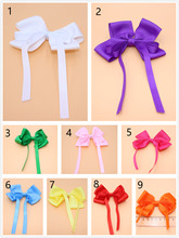 10pes/lot Fashion Boutique Grosgrain Ribbon Hairbows Girls Hair Bows With Clip Kids Hair Clips Hair Accessories