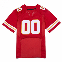 Football Jerseys Custom Any Name Any Number White Red Jerseys Stitched Men Football Jersey Free Shipping
