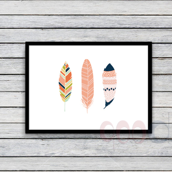 De dibujos animados de colores característica Canvas Art Print ...