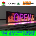 680X190MM Programmable LED Scrolling Message Display Sign  led panel Indoor full color Board