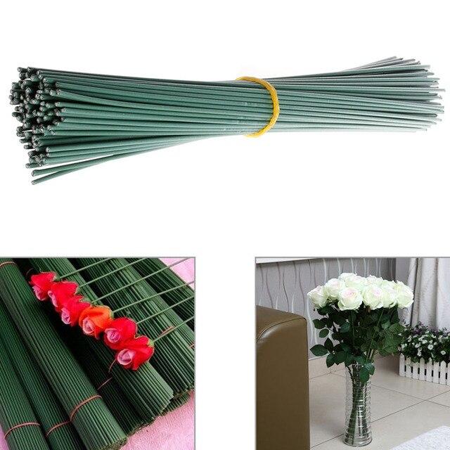 Ein Bündel von 100 Stück Künstliche Blumen Draht Handwerk ...