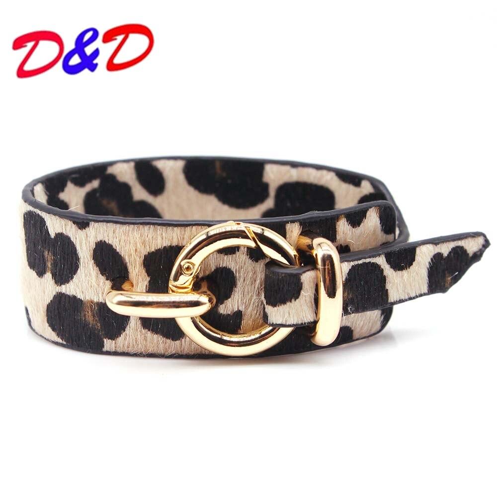 D&D Fashion Punk Leather Bracelet Newest Bracelets & Bangles For Women Wristband Charm Cuff Bracelets Браслет
