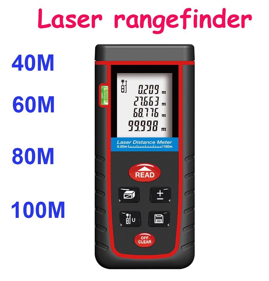 Rz-s40 лазерный дальномер датчик дальномер 40 м 60 м 80 м 100 м с пузырьковый уровень громкости области расстояние тестер