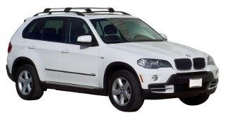 Car Roof Rack Cross Bar Whispbar for BMW X5 E70 5 door SUV ...