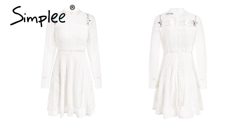 robe Lace female short 15