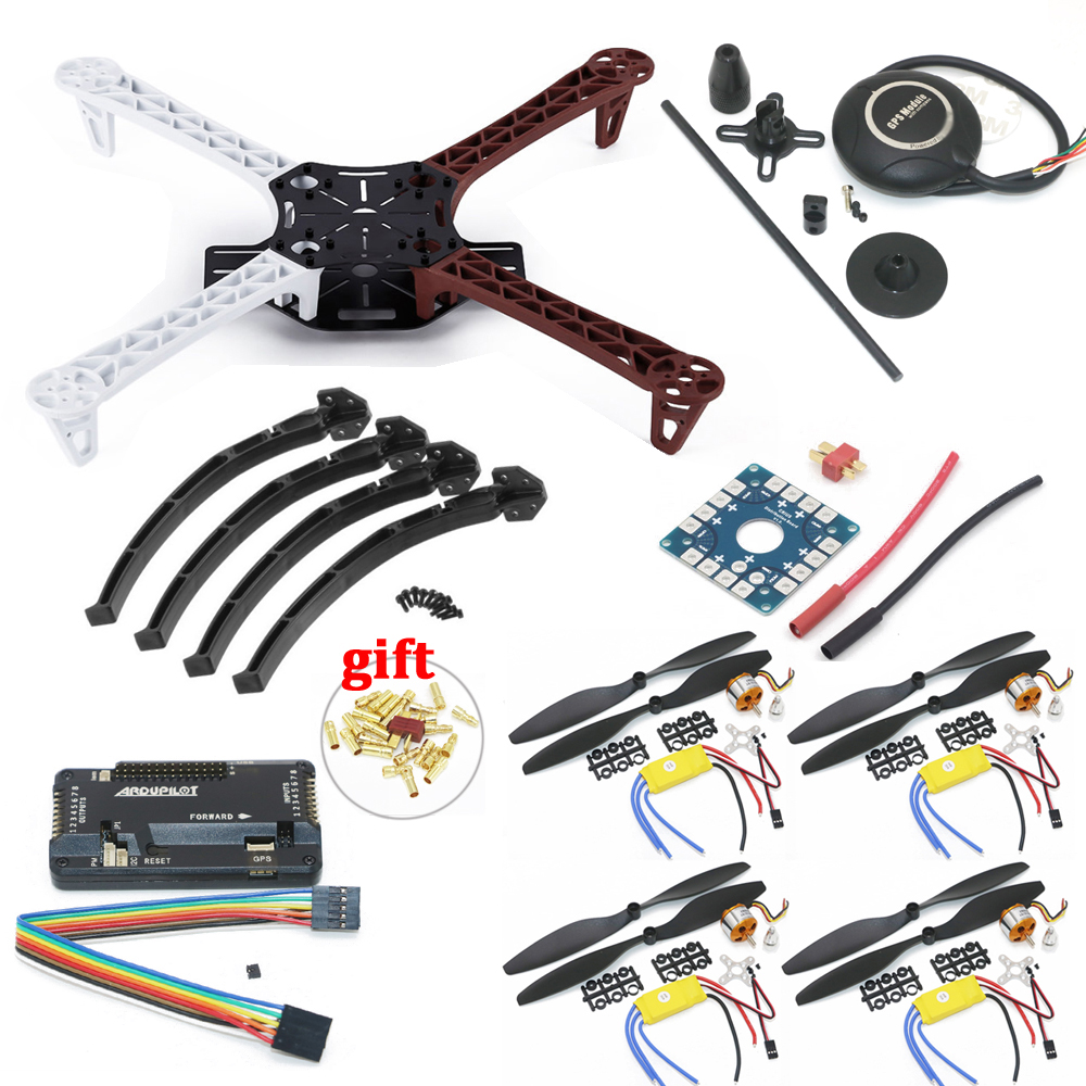 F450 Quadcopter Rack Kit Frame APM2.8 Flight Controller and 7M GPS with Stand A2212 1000KV 30A 1045 Props For Rc Quadcopter image