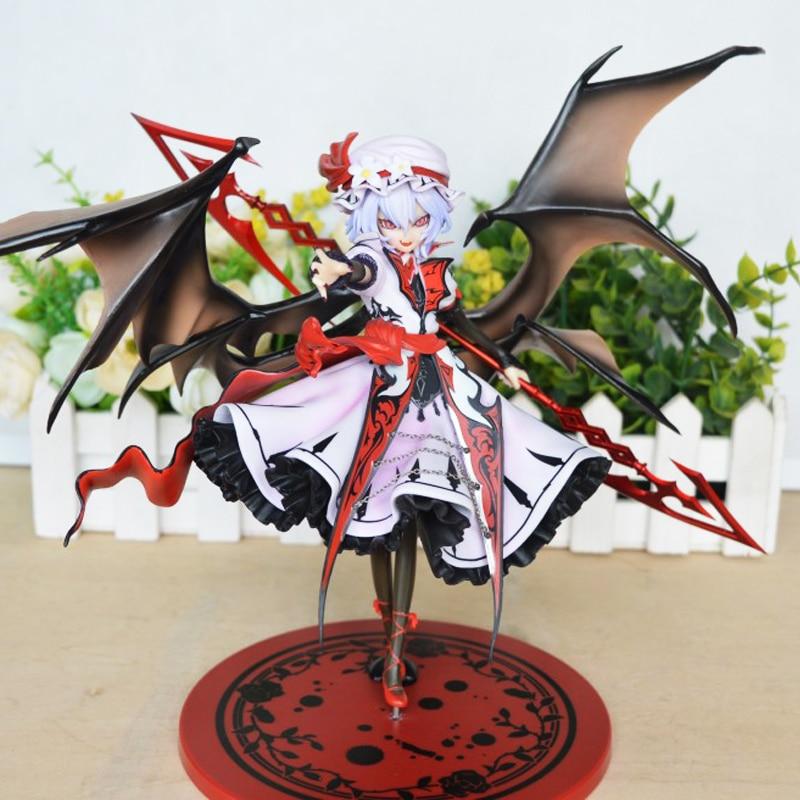 ФОТО Griffon Project TouHou Project Figure Little Devil Koakuma Remilia Scarlet Spear the Gungnir 22 CM PVC Action Figure Doll Toys