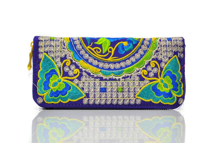 Embroidered Ladies Badala Wallet