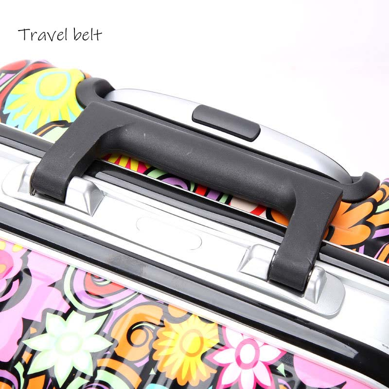 90fun Pc Koffer Kleurrijke Carry Op Spinner Wielen Rolling Bagage Tsa Lock Business Travel Vakantie Voor Vrouwen Mannen - 5