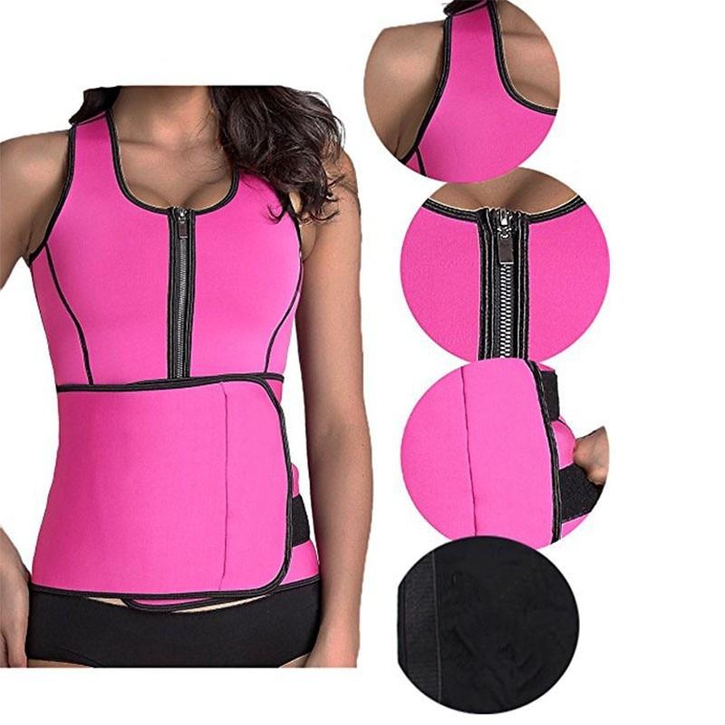 Inadice Corset Belt Women Cummerbunds Neoprene Top Clothing Waist Belt Solid Elastic Belt 2019 Fashion Slimming Belt Wholesale