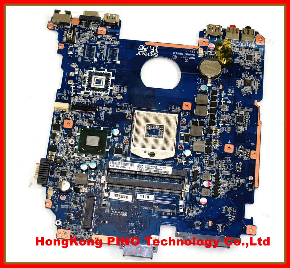MBX-247 motherboard for SONY PCG-71912L VPCEH14FM A1827699A MBX-247 DA0HK1MB6E0 HM65 INTEGRATED GMA HD DDR3 60 days warranty pujari v c s m r customer relationship management in service sector