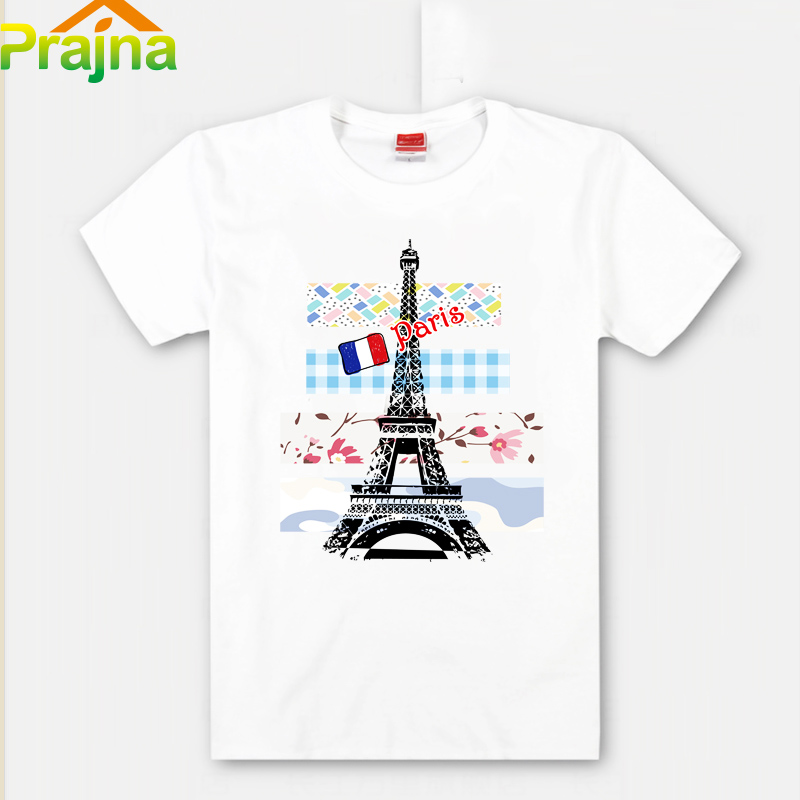 Prajna Iron On Transfers Paris Patches For T Shirt Clothes - Custom vinyl decals for t shirts wholesale