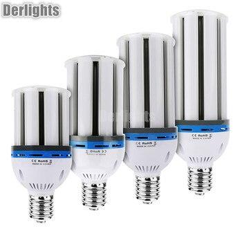 E27 E40 W 30 W 40 W 50 W 60 W llevó la lámpara del bulbo de la luz del maíz LED caliente/blanco frío AC85-265V Super brillante ahorro de energía Led iluminación lámpara de maíz