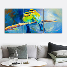 Laeacco Abstract Watercolor Birds Animal Posters and Prints Wall Art Canvas Painting Nordic Home Decoration Living Room Decor