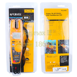 Image 5 - Fluke T6 1000 Non Contact AC True RMS Voltage/Current Clamp Meter with Hz, Resistance Test