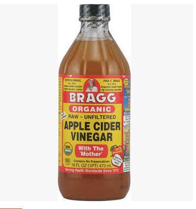 Bragg Organic Raw Unfiltered Apple Cider Vinegar 473ml / (1 bottles) free shipping apple cider vinegar 480 mg 200 pcs