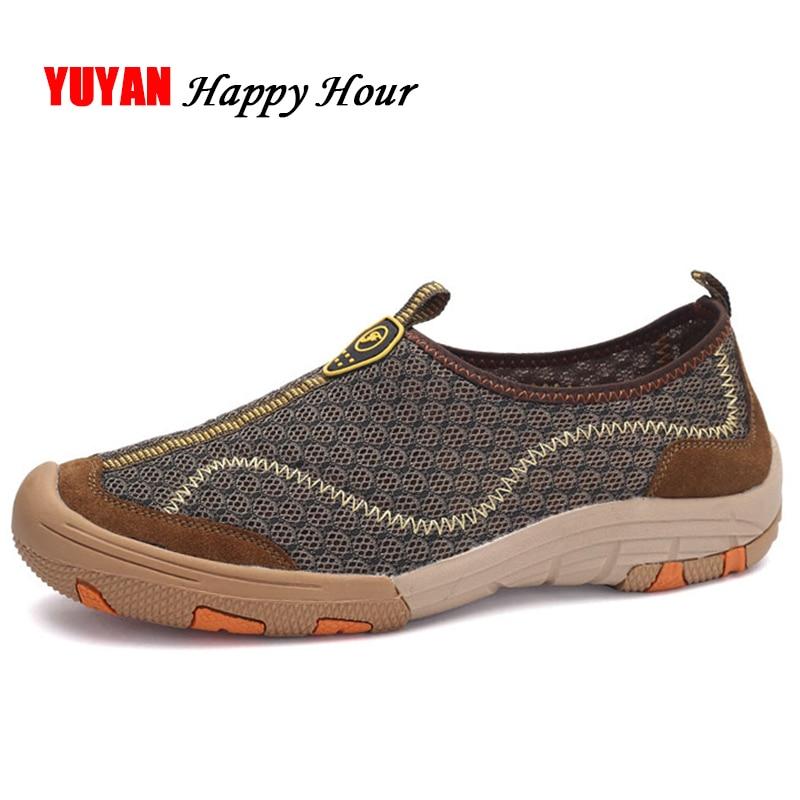 Casual Chaussures Mocassins Marque vert K249 Qualité slip gris Haute Mode Homme Marron Sneakers Non Nouveau Hommes De D'été Maille SwI6qqx7t