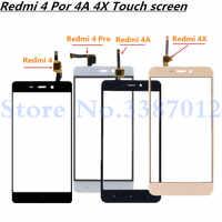 5,0 ''Ersatz Hohe Qualität Für Xiaomi Redmi 4 4 Pro 4A 4X Touchscreen Digitizer Sensor Äußeren Glas Objektiv panel