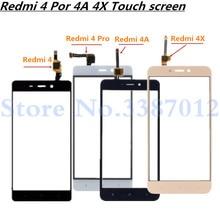 5.0 交換高品質 Xiaomi Redmi 4 4 プロ 4A 4X タッチスクリーン外側ガラスレンズパネル