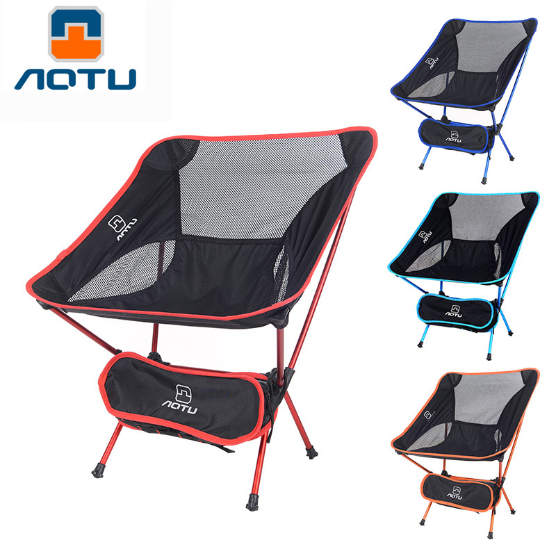 Lightweight And Compact Folding Backpacking Chair Lounge Seat Portable Breathable Comfortable for Hiking Fishing Camping