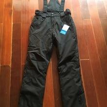 Распродажа! Высокое качество-30 градусов термо лыжные брюки женские 10000 мм водонепроницаемые женские лыжные сноуборд брюки ветрозащитные зимние брюки