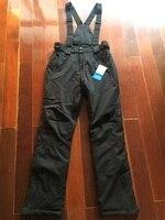 SALE!!! HIGH QUALITY 30 Degree Thermal Skiing Pants Female 10000mm Waterproof Women Ski Snowboard Pants Windproof Snow Trousers
