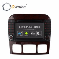 Ownice Para Mercedes Benz Clase S W220 S280 S320 S350 S400 S420 S430 Vihecle Android GPS DVD Reproductor de Audio Estéreo de Radio DAB + 4g pc