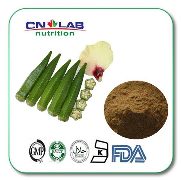 Pure Sex Enhancement Plant Viagra Okra powder/okra extract powder/okra extract/ high quality okra extract 1kg