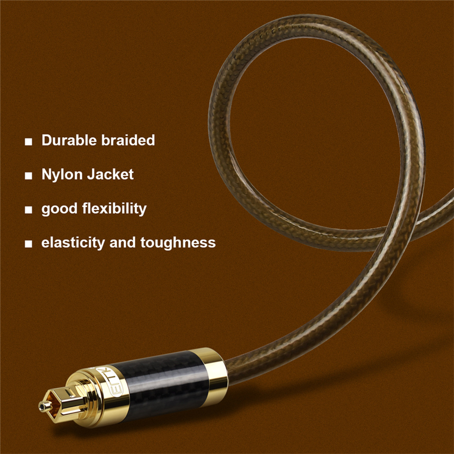 6 Optical Audio Toslink Cable