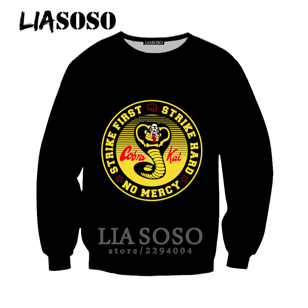 LIASOSO T Shirts Casual Brand Clothing New Cobra Kai Karate Kid Movie Men 39 S T Shirt O neck Short Sleeve Tops Karate Kid ka13 in T Shirts from Men 39 s Clothing