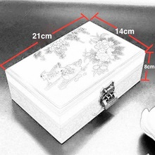 Chinese Style Lacquer Jewelry Boxes