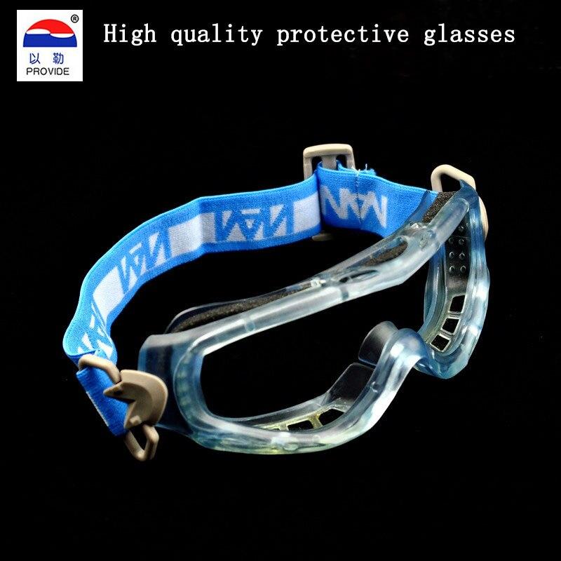 Обеспечить высокое качество очки Марка защиты ПК защитные очки Анти-туман против царапин спорт езды защитные очки