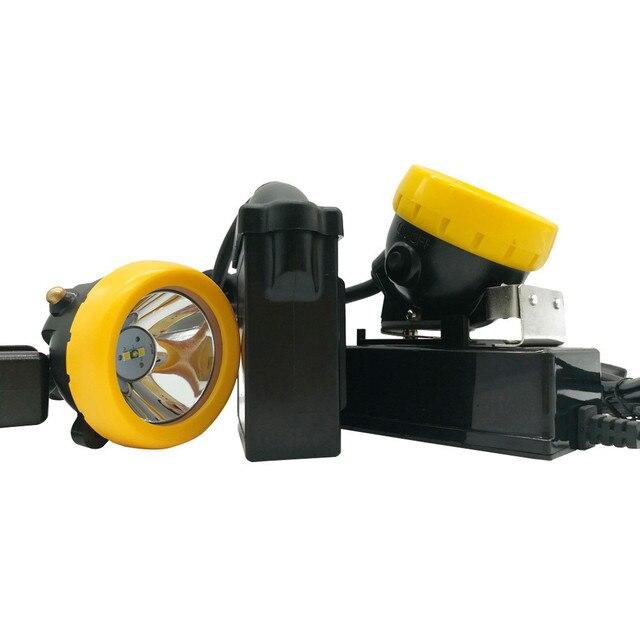 Super Bright przeciwwybuchowa lampa górnicza KL5LM Miner reflektor z ładowarką 1W 10000LUX
