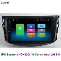 Lenvio 4GB RAM 32GB ROM Octa Core Android 8.0 CAR DVD Radio GPS Navigation multimedia For Toyota RAV 4 RAV4 2009 2010 2011 2012