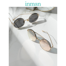INMAN Polarized Women Round Shape Classic Unique Frame Design Lady Travelling or Driving Use Sunglasses