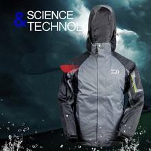 Дайв Рыбалка одежда три слоя флис теплый Туризм Кемпинг куртки для рыбалки мужские водонепроницаемые зимние рыболовные пуховые пальто