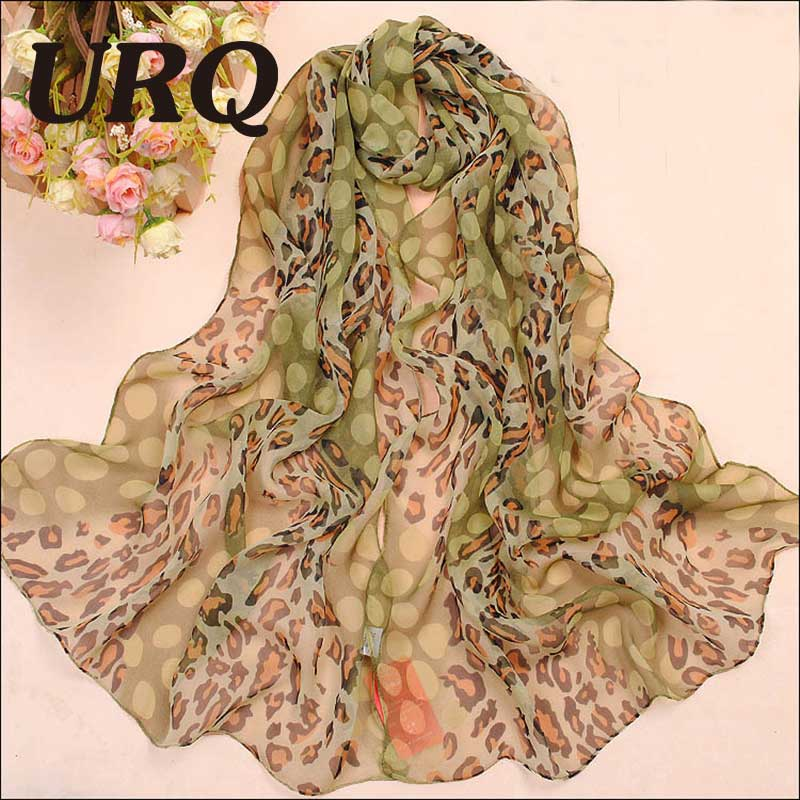 50*160cm Woman Long Chiffon Silk Scarves Pretty Sexy Style L