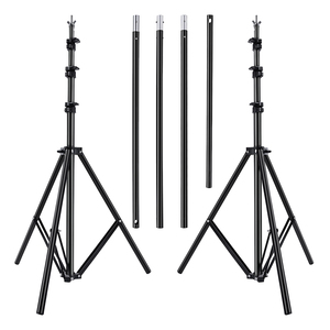 Image 3 - Fusitu 2.6*3M Background Frame Background Support System Stand photography Studio Backdrops Frame For Photo Shoot With Carry Bag