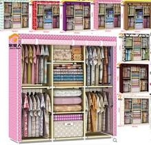 2016 Limited Direct Selling Folding Rack Four Layers Rack Prateleira Shelf Diy Closet Wardrobe / Combined Cloth 10 Color Hs-11