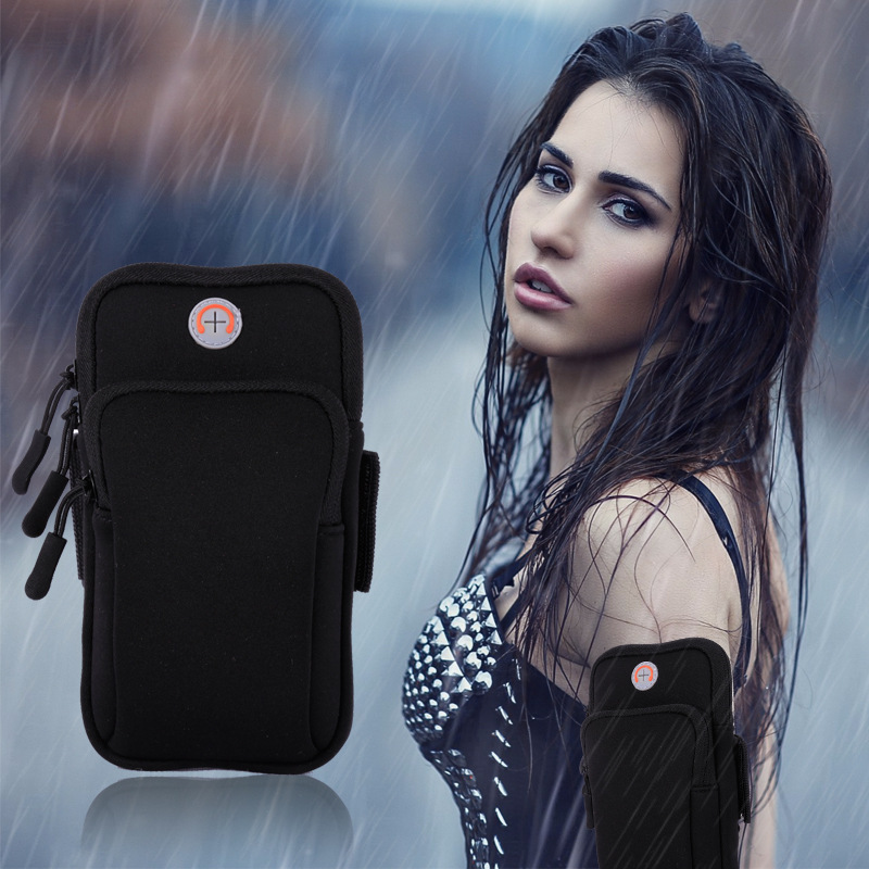 Sports Running Armband Bag Case Cover Running Armband Universal Waterproof Sport Mobile Phone Holder Phone Arm Pou(4-6inches)