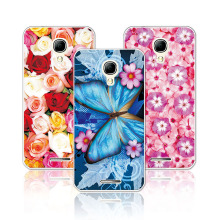 Floral Art Painted Flower Case For Alcatel One Touch Pixi 4 5.0 5010 Cover 5010d+Free Pen Gift