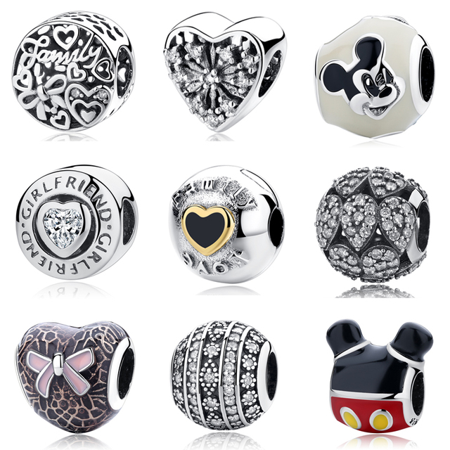 1c30159a7 Diy Jewelry Making Women Pulsera Fit Pandora Charms Beads Sterling Silver  925 Original Regalos Bisuteria Kralen