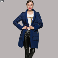 Women down jacket creative stitching style personality personality high-end brand fashion down jacket free shipping