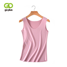 GOPLUS Spring Soft Cotton Basic Tank Top Women Camisole Sexy Sleeveless Vest Ladies Fashion Streetwear Elastic Slim Tops Female